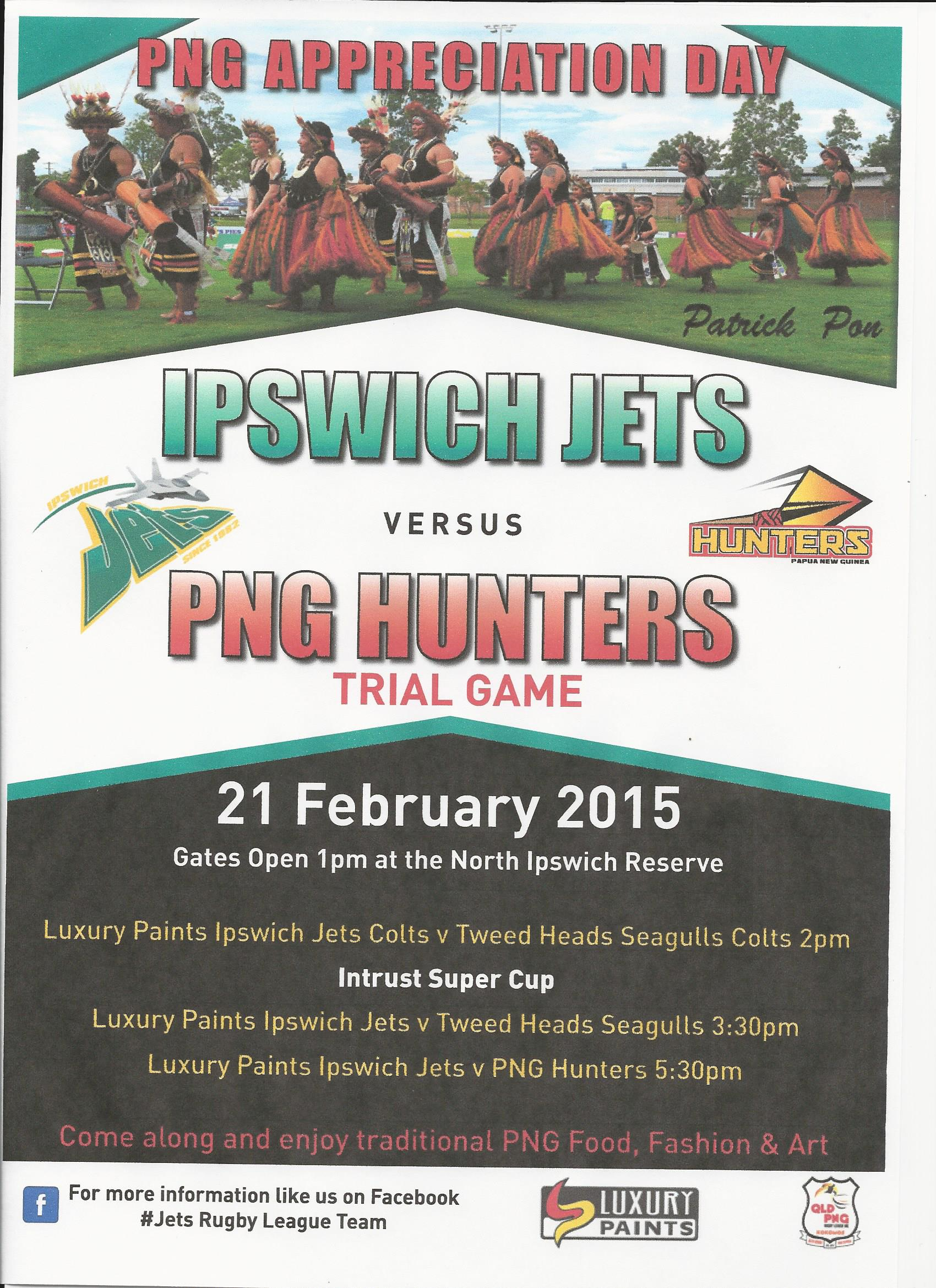 Jets Hunters Match