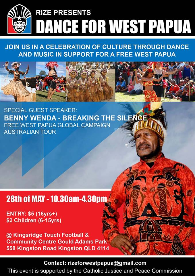 Dance for West Papua