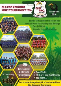 2016 QLD PNG Nines Carnival