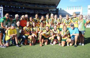 Amelia Kuk Australian Jillaroos Auckland Nines Champions