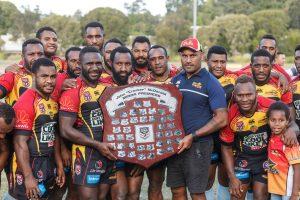 PNG Hunters 2017 Intrust Super Cup Minor Premiership Winners