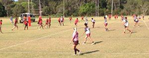 Kokomos Womens versus Nuie QPICC Trial Match 2017