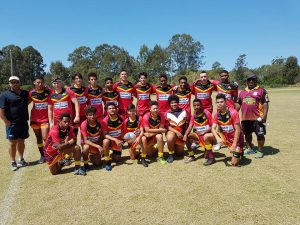 2017 QLD PNG v QLD Nuie Trial Match