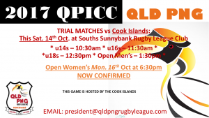 QLD PNG v Cook Islands
