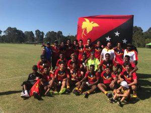 QLD PNG Kokomos 2017 u16s QPICC Champions 2017