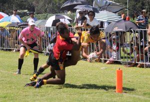 2017 u16s QPICC Championship Finals vs Niue