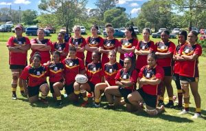 QLD PNG Kokomos Women's QPICC team