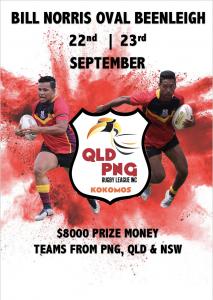 QLD PNG Kokomos Nines Carnival 2018