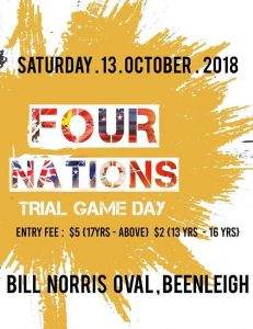 Four Nations Trial Match